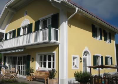 Fassaden Malerei Haus