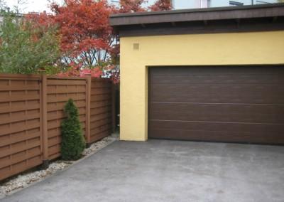 Malerei-Gartenzaun-Garagentor-Fassade